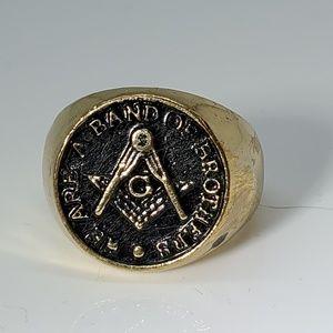 Other - Men's Stainless Steel Masonic Ring